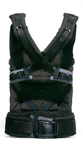 Manduca Babytrage 222-02-60-000, Bauch-, Rücken- und Hüfttrage, schwarz - 4