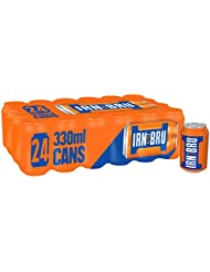 IRN-BRU Soft Drink Cans, 24 x 330 ml
