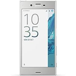 Sony Xperia XZ Smartphone débloqué 4G(Ecran: 5,2 pouces - 32 Go - Nano-SIM - Android 6.01) Argent