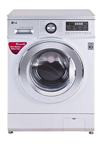 LG FH096WDL23 Fully-automatic Front-loading Washing Machine (6.5 Kg, Blue White)