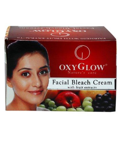 OxyGlow Natur Pflege Gesichts Bleach Creme mit Fruchtextrakte für Haut 50 gm