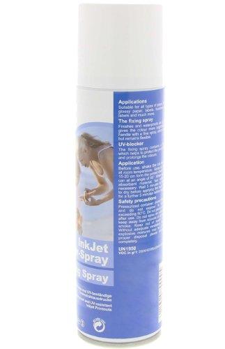 Inkjet Fixierspray 400ml für wasserfeste und UV beständige Tinten Ausdrucke - Uv-tinte