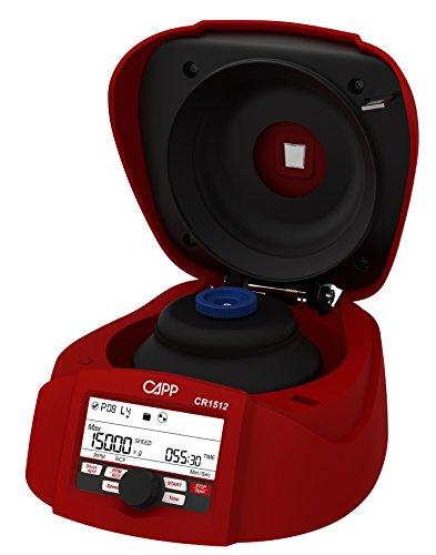 CappRondo CR-1512 Microcentrifuga 15000Rpm/1560G, per Tubi da 12x 1,5-2,0ml