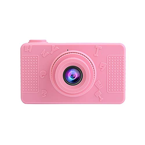 TDFGCR Kinder Digitalkamera 2.0 LCD Mini-Kamera HD 1080P Sportkamera für Kinder-Rosa b