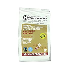Equal Exchange Decaffeinated Coffee Beans – Swiss Water