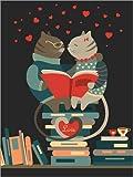 Posterlounge Acrylglasbild 100 x 130 cm: Liebe von Kidz Collection/Editors Choice - Wandbild, Acryl Glasbild, Druck auf Acryl Glas Bild