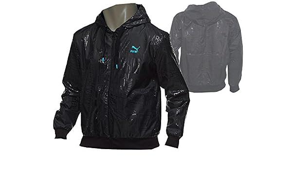 PUMA YOUTH ATTACK Wind Jacket schwarz Allwetter Sport