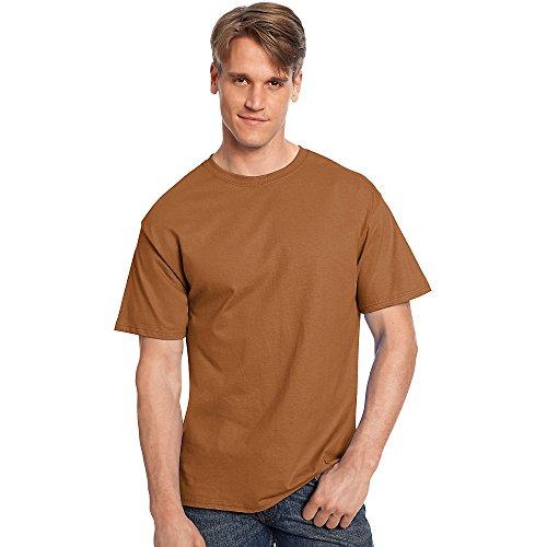 hanes-herren-asymmetrischer-t-shirt-durchgehend-braun-5250