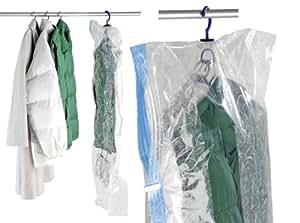 Wenko 3792740100 More Système de Sac de Vètements Sous Vide Taille L Dimensions 105 X 70 cm