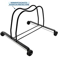 Bicycle Display Stand with Roll Display Stand Storage Rack by M Wave