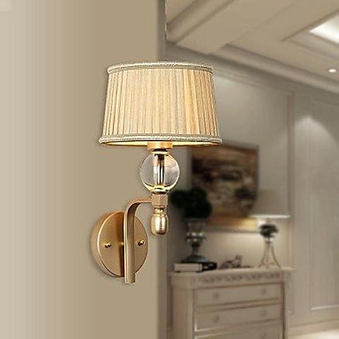 ASNSWDC® mini luce da parete 1 luce moderno artistica inossidabile stelle placcatura 220v
