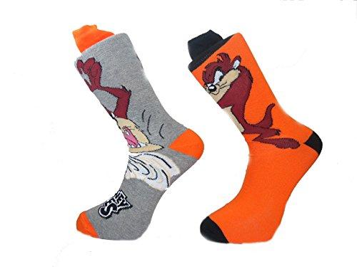 bon-marche-2-chaussettes-pour-les-hommes-taz