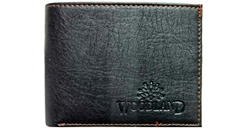 VINIK Woodland Men's Genuine Leather Wallet Brown  available at amazon for Rs.249
