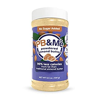 PB&Me Natural - SUGER FREE powdered Almond Butter - 184g