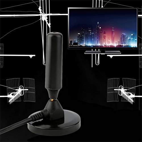Gusaman max. 36dB aktive DVB-T DVB-T2 HD Verstärker Zimmer Antenne Magnetfuß SMART TV ME#X