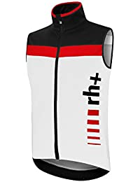 RH + logothermo Vest blk-wh-red M, chaleco (Ciclismo) Hombre, black-white-red, M