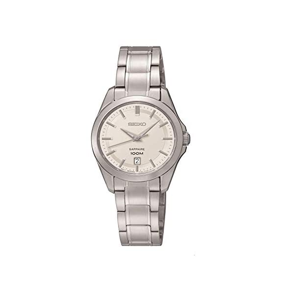 Seiko Damenuhren SXDF55P1 – Reloj analógico de Cuarzo para Mujer,