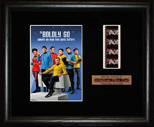 FCD Star Trek - to Boldly Go Original-Serie, gerahmtes Filmbild