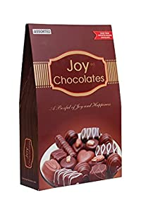 Joy Chocolates Premium Assorted Chocolate Box - 21 PC (7 Nutty Chocolates)