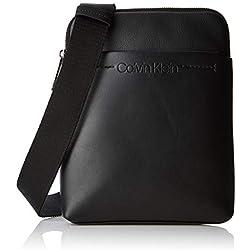 Calvin Klein Flex 1 G Ipad Flat Crossover, Sacs portés épaule homme, Noir (Black), 3x25x20 cm (B x H T)