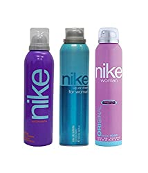 Nike Deodorant Combo Of 2 (Purple + Up Or Down + Original) For Women (EDT)