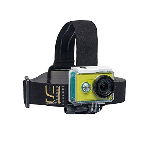 YI® Kopf Halterung für das Yi Action Kamera kompatibel mit GoPro Hero (YI Offizielle Zubehör)