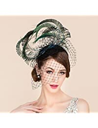 Amazon.es  sombreros mujer tul  Ropa 8e8332650ab