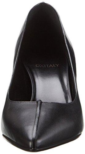Oxitaly - Sacha 306, Scarpe col tacco Donna Nero (Nero)
