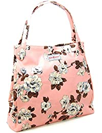 1d1a35266f Cath Kidston Shoulder Tote Bag in  Crescent Rose  Design in Blush Pink  Oilcloth