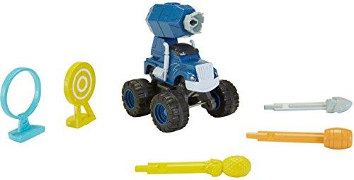 Fisher-Price - Blaze et les Monster Machines - Cannon Blast Crusher - Mini Véhicule + Accessoires