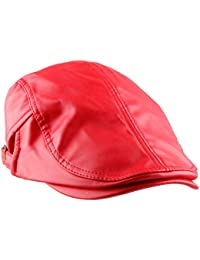 5b472c9284a Amazon.co.uk  Red - Flat Caps   Hats   Caps  Clothing