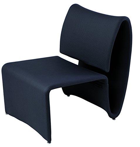 Alba-CHAERO-G-Chauffeuse-dAccueil-Tissu-Noir-77-x-75-x-60-cm