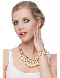 SEXYHER Traum Charms Dew Multi Strang kurzer Punkt Damen Perlen Armband SHWM131007B008