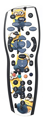 Image of Falling Despicable Me Minions Sticker/Skin sky+ hd Remote controller/controll r42