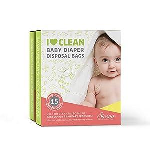 Baby Diapers & Sanitary Disposal Bag by SIRONA
