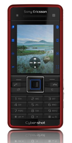 Sony Ericsson C902 Luscious Red UMTS Handy