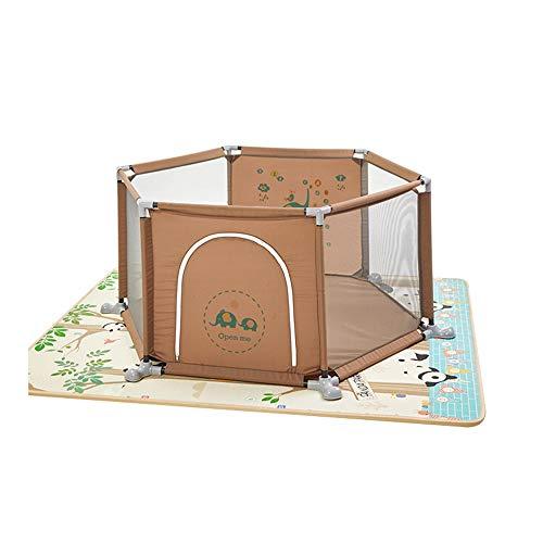 Teng Peng Baby Protection Child Home Clôture de jeu pour bébé Aire de jeux intérieure pour bébé Tapis rampant Clôture pour tout-petits Clôture de sécurité pour enfants Clôture de sécurité pour enfants