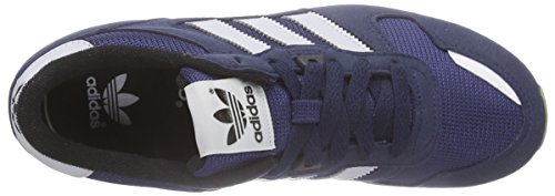 adidas Originals Zx 700, Baskets Basses Mixte Enfant Bleu - Blau (Collegiate Navy/Lgh Solid Grey/Ftwr White)