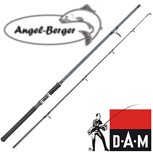 Angel-Berger DAM Spinnrute Steckrute Custom Edition in verschiedenen Längen (2.70m)