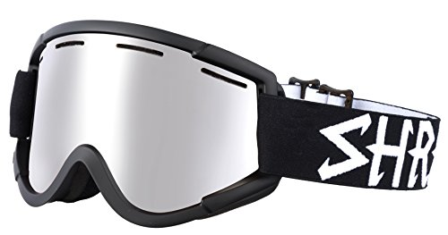 Shred nastify eclipse platinum neve occhiali da sci, snowboard, black, one size