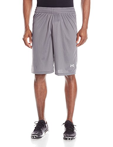 Under Armour Herren Doppel doppelt Shorts, Grau, 1241904 (Herren Armour Hose Under Team)