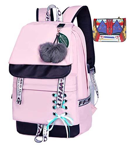 ltasche Kawaii Druck Rucksack Mädchen Lässig Wasserdicht Backpack Schule Teenager Daypack Männliche und Weibliche chüler Nylons ()