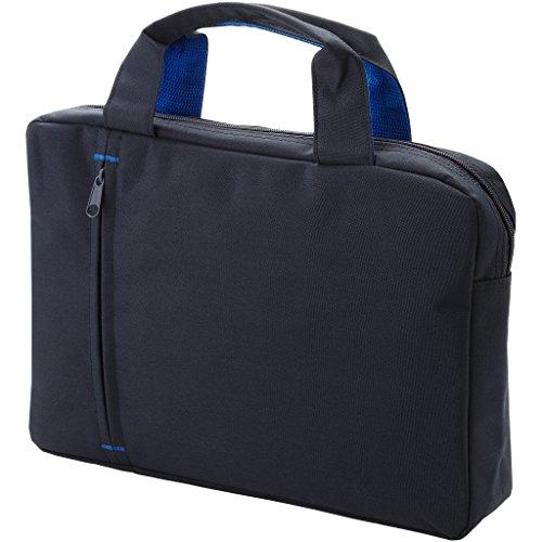 Bullet Detroit Konferenz Tasche (33.5 x 6 x 24cm) (Solide Schwarz/Royal Blau)