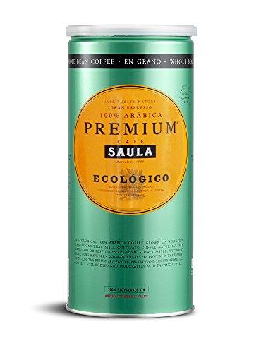 Premium Organic Coffee Beans – 100% Arabica Spanish Espresso Blend from Award Winning Café Saula 500g