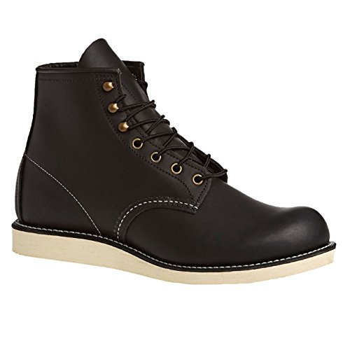 Red Wing Mens Rover 2951 Black Leather Boots 44 EU