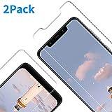 Vkaiy Lot de 2 Films protecteurs d'écran pour Xiaomi Pocophone F1 en Verre trempé Ultra Transparent Dureté 9H 3D Touch Compatible Anti-Rayures, Anti-Huile, Anti-Bulles pour Xiaomi Pocophone F1