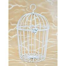 BUSDUGA   Vogelkäfig Aus Metall, Weiß, 27x19cm Ideal Für Plüschtiere /  Laber Tiere
