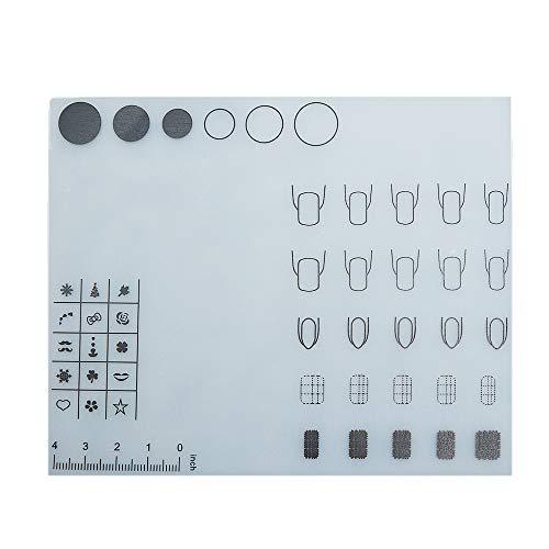 Lebeaut Mini Silicona Nail Art Mantel Mesa Lavable
