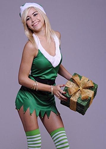 Erwachsene Damen Sexy Elfen Kostüm L (UK (Kostüm Damen Elfen Uk)