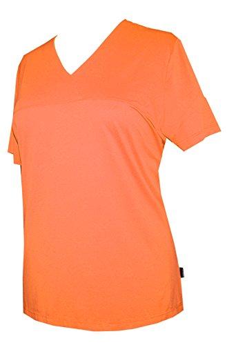 Schneider Sportswear Damen Shirt T-Shirt Pulli Sportshirt Orange